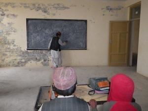 Des enfants dans une école afghane