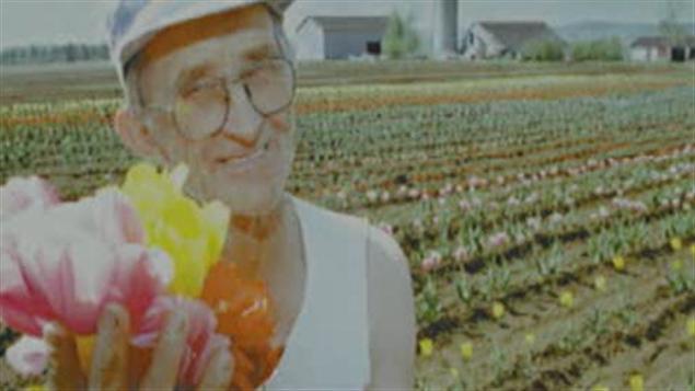 Jacques Jong était un passionné de tulipes. Il a été assassiné le 29 mai 2009.