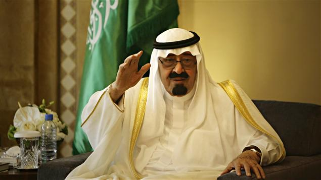Le roi Abdallah d'Arabie saoudite (archive)