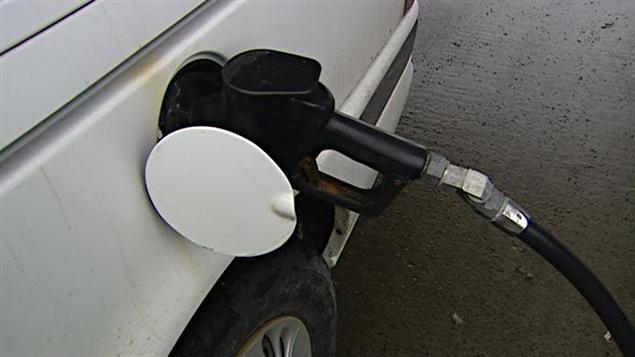 Pistolet d'une pompe à essence