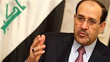 Le premier ministre irakien, Nouri al-Maliki