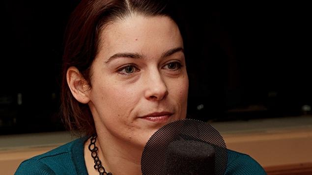 ©Radio-Canada/Christian Côté | <b>Marie-Pier Élie, journaliste</b>