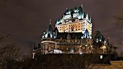 Le château Frontenac à Québec