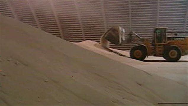 Un tracteur chez PotashCorp