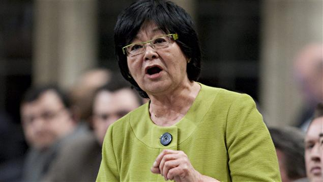La ministre Bev Oda  la Chambre des communes