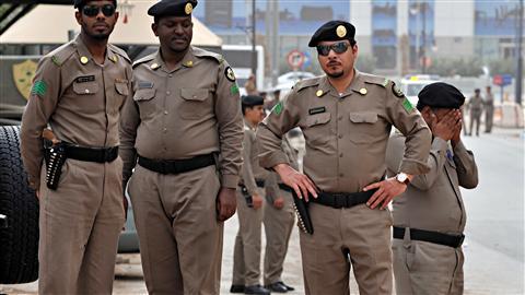 Forte mobilisation policière à Riyad pour empêcher les manifestations