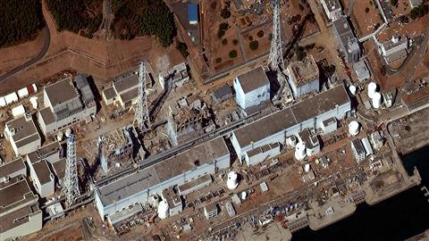 la centrale nucléaire de Fukushima Daiichi