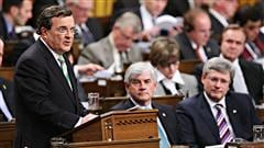 Le ministre Jim Flaherty prsente son budget 2011