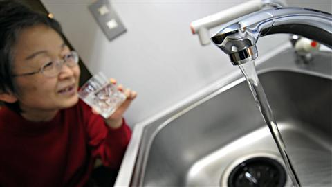 Eau du robinet à Tokyo