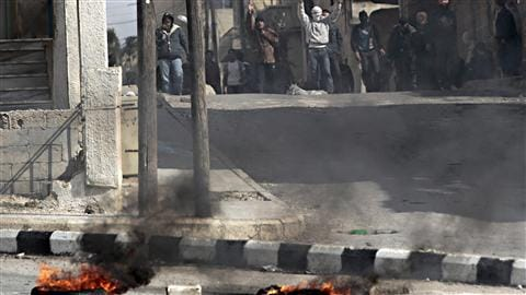 Manifestation antigouvernementale à Daraa, le 23 mars 2011.
