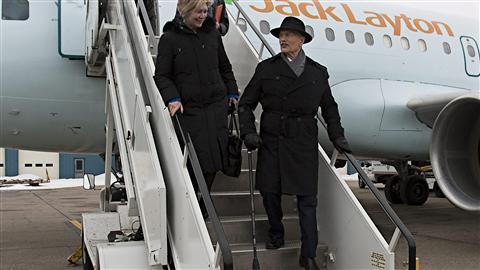 Jack Layton à Edmonton