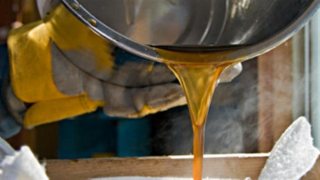 Quebec supplies three-quarters of the world's maple syrup.