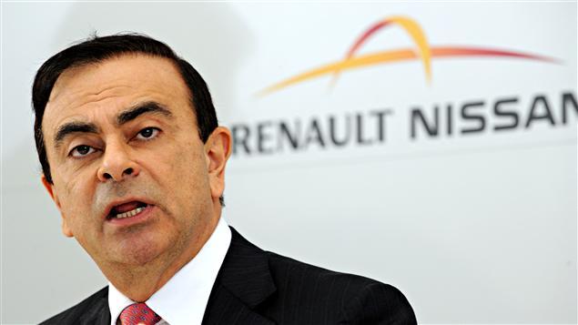 Le PDG de Renault et de Nissan, Carlos Ghosn