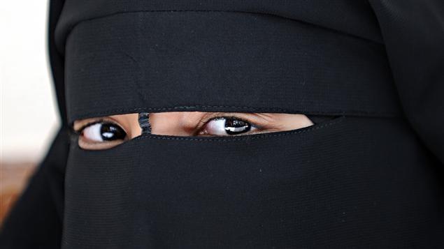 Une Femme portant le niqab.