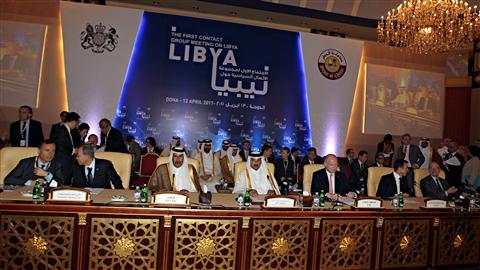 Le Groupe de contact sur la Libye ets réuni à Doha, au Qatar.