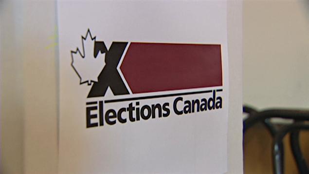 Isoloir d'Élections Canada