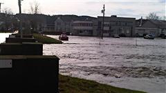 Inondation à Coaticook