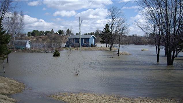 Inondations en Beauce
