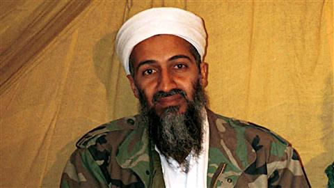 Photo non datée du chef d'Al-Qaïda, Oussama ben Laden