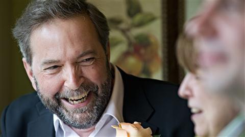 Thomas Mulcair, d�put� de la circonscription d'Outremont