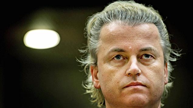 Le député néerlandais Geert Wilders