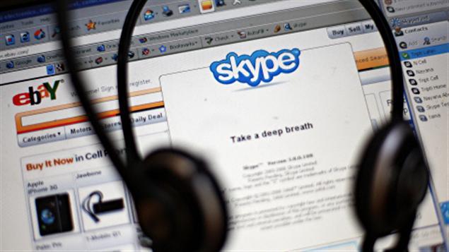 Le logiciel de communication Skype