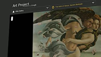 La page du site Google Art Project