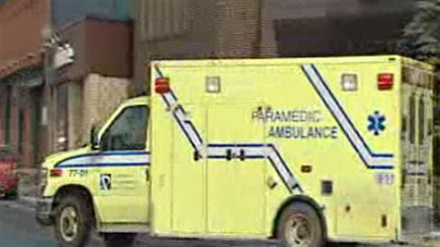 Ambulance de la Coopérative des paramédics de l'Outaouais