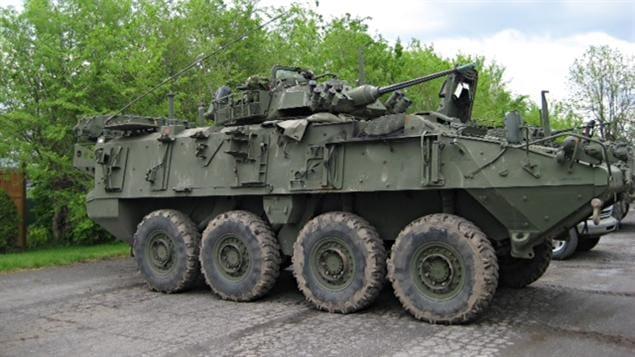 Char des Forces canadiennes