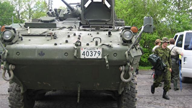 Militaires en Venise-en-Québec