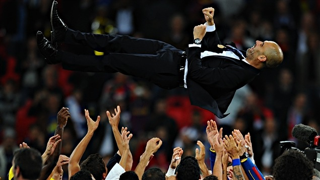 Josep Guardiola, porté en héros
