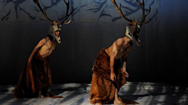 Image tirée du spectacle O Deer! de Chanti Wadge