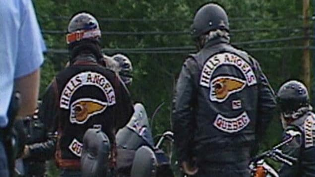 Des membres des Hells Angels.