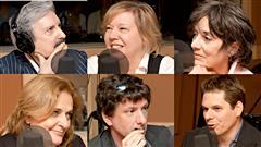 Marc Laurendeau, Josée Legault, Francine Pelletier, Nathalie Petrowski, Yves Boisvert et Patrick Lagacé