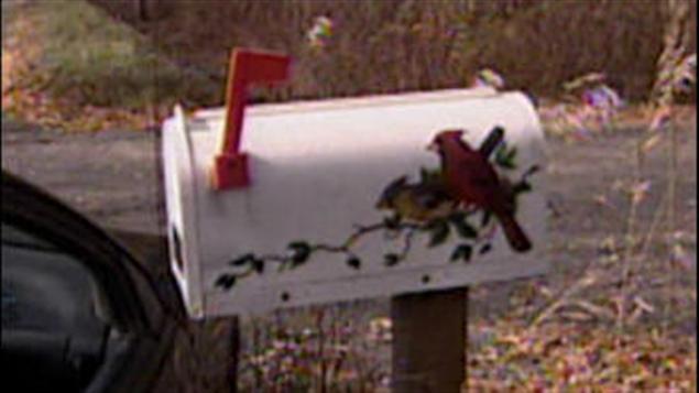 Une boîte aux lettres en milieu rural