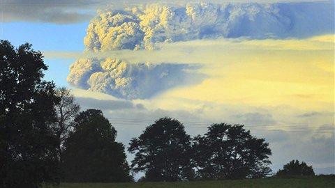 Le volcan Puyehue