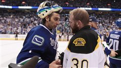 Roberto Luongo et Tim Thomas