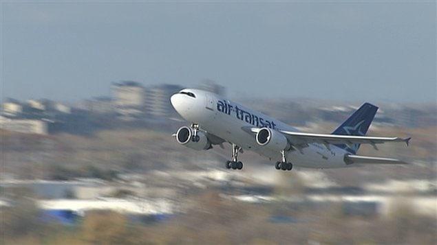 un avion d air transat