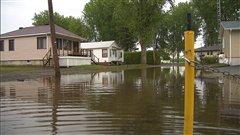 345 résidences sont toujours inondées en Montérégie