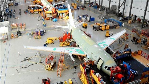 Usine d'assemblage de l'A320 en Allemagne