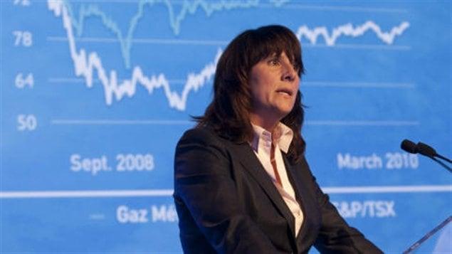 Sophie Brochu, PDG de Gaz Métro