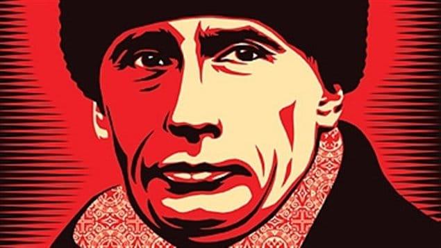 Vladimir Poutine par l'artiste Shepard Fairey
