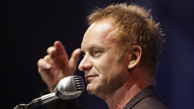 Gordon Sumner, connu sous le nom de Sting (archives)