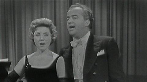 Pierrette Alarie et Léopold Somoneau
