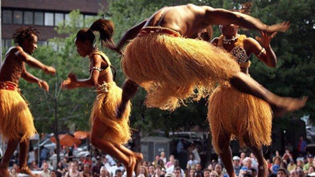 عرض من مهرجان ليالي إفريقيا في مونتريال (أرشيف)