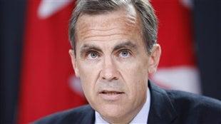 Le gouverneur de la Banque du Canada, Marc Carney.