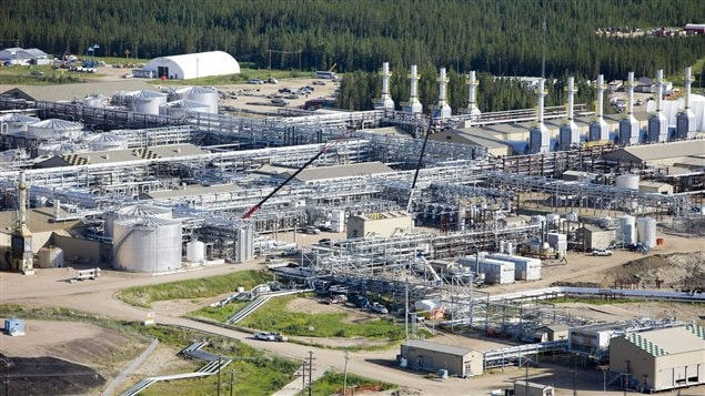 Installations de Cenovus Energy en Alberta