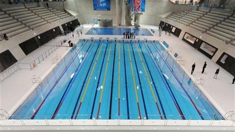 La piscine olympique des JO de 2012