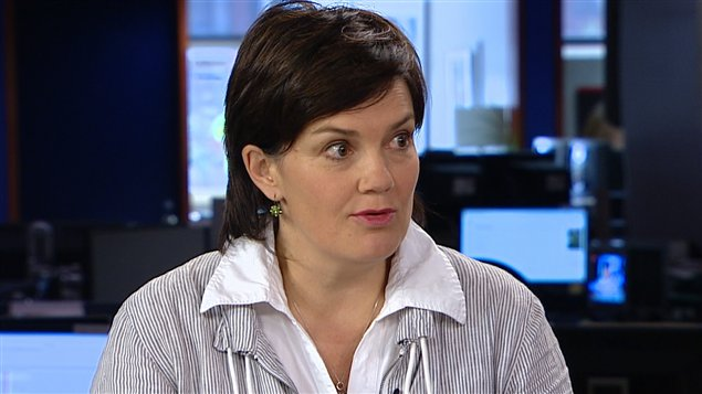Béatrice Vaugrante, d'Amnistie internationale, section Canada francophone