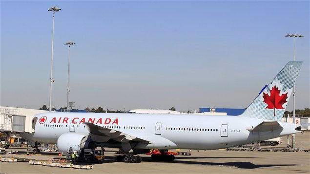 Atterrissage d 39 urgence d 39 un avion d 39 air canada l for Interieur avion air canada